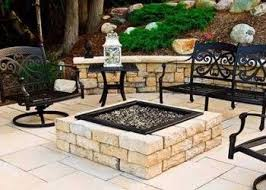 patio with square fire pit.  Fire Patio With Fire Pit Throughout Patio With Square Fire Pit S