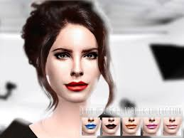 GramsSims' Lana Del Rey Lipstick Collection