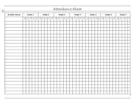 School Attendence Sheet School Attendance Sheets Sheet Form Template Event