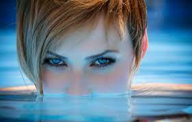 Wallpaper girl, Model, photo, water ...