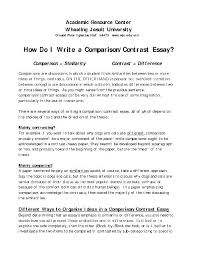 conclusion about family essay money