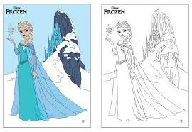 Small Picture Disney Frozen ELSA coloring page by Dvythmsky on DeviantArt