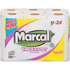 Bathroom Tissue Interesting Amazon MarcalR Bathroom Tissue 48 ROL Pack Of 48 Grocery