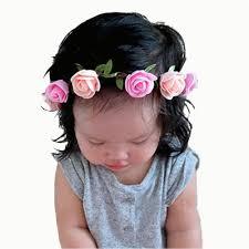 diy t shirt headband fashion girls flower headband diy rose hair band girl girl head wrap