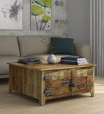 grayson solid wood coffee table