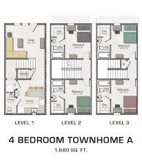 Take A Look At Floor Plans Of OOSTENu0027s ResedencesTownhomes Floor Plans