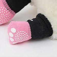 Ocamo <b>4pcs Cute Lovely</b> Colorful Dog <b>Cat</b> Cotton Socks Anti-Slip ...