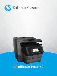 HP OfficeJet Pro 8740 User Guide – TRWW