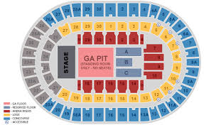 Sports Arena Seating Chart Seating Chart Official Ticketmaster Site