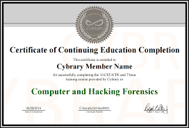 Certificate Of Completeion Product Update New Cybrary Certificate Of Completion Cybrary