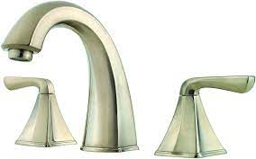 Price Pfister F049SLKK Selia Widespread Bathroom Sink Faucet, Brushed  Nickel - Touch On Kitchen Sink Faucets - Amazon.com