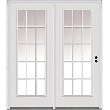 center hinged patio doors. National Door Company Z001634L Steel, Primed, Left Hand In-Swing, Center Hinged Patio Doors