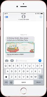 Text Invitations Send Party Event Invitations By Text Message Evite Com