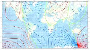 Magnetic Declination Chart Earths Magnetic North Shifting Rapidly Whats It Mean For