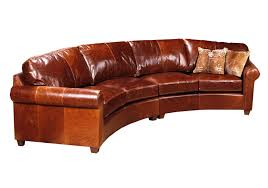image of curved leather sofa curved leather sofa t0