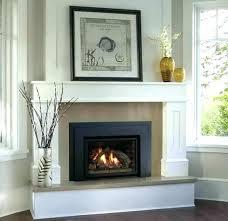 gas corner fireplace mantels ideas natural tv stand fire