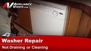 How To Clean A Dishwasher Drain Whirlpool Du810swpq3 Dishwasher Repair Not Draining Or Cleaning