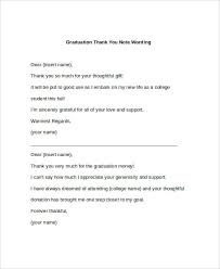 Graduation Thank You Note Free 28 Note Templates Examples In Pdf Doc Examples