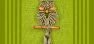 how to make macrame owl jewelry