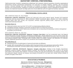 Material Program Manager Control Resume Warehouse Sample Supervisor ...