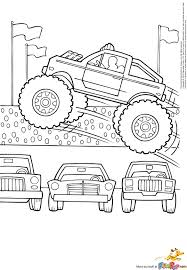 Grave Digger Monster Truck Coloring Page Printable Grave Page Adult