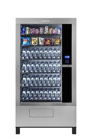 Monkey Uses Vending Machine Interesting GPE DRX 48 Chilled 48 Tray Floor Standing Vending Machine Monkey Vend