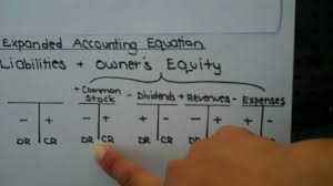 t account in accounting expanded accounting equation with t accounts youtube
