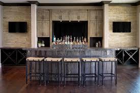 diy rustic bar. Diy Bar Stool Ideas Home Rustic With Wall Mounted Tv Distressed Wood Cabinet N