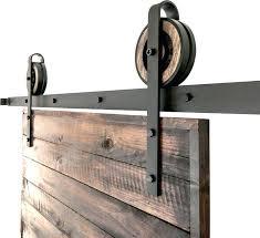 barn door rollers rustic slide barn door closet hardware set 2 roller sliding barn door hardware