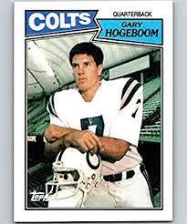 Amazon.com: 1987 Topps #374 Gary Hogeboom Colts NFL Football: Collectibles  & Fine Art