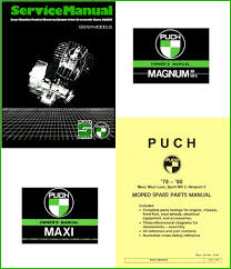 puch parts service manual maxi luxe newport sport mk for