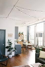 indoor string lighting. Best Indoor String Lights Ideas Pictures For Bedroom Of F Fca Cd Loft Living Rooms Lighting