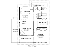 unusual design 14 small house plans under 1000 sq ft one story