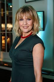 Who is Ashley Jensen, who was the Extras actress's husband Terence Beesley  and what TV shows has she appeared in?