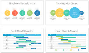 Timelines And Gantt Charts For Powerpoint New Office