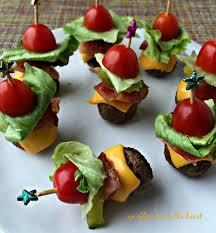 wedding food ideas bacon cheeseburger meat diy weddings
