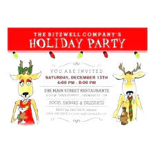 Funny Office Holiday Party Invitations Sepulchered Com
