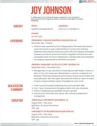 Resume 2017 Templates Free Executive Resume Templates 100 Resume Resume Examples 54