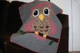 Crochet Owl Blanket Pattern Free New Owl Blanket JustMMA