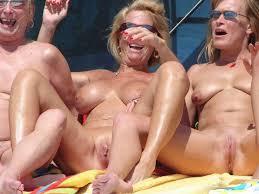 Nudist families masturbate together