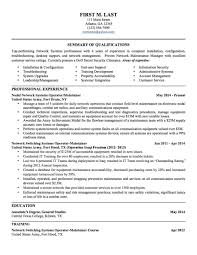 Army To Civilian Resume Examples Nousway
