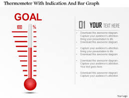 How To Make A Thermometer Goal Chart Powerpoint Tutorial 9 How To Create A Thermometer Diagram