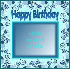 imikimi zo birthday frames happy picture frame