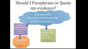 revising literary essays self paced lessons lessons teach quote or paraphrase