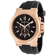 michael kors dylan chronograph black dial men s watch mk8184