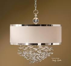 uttermost fascination 3 light slken drum pendant 21908 drum light pendant chandeliers drum pendant lighting decorating