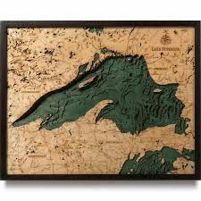 Lake Superior Depth Chart Lake Superior