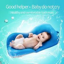 newborn baby bathtub pillow toddler infant soft seat pad tub bath floating air cushion pillow non
