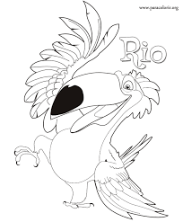 Small Picture Rio The Movie Rafael coloring page