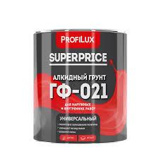 Алкидный <b>грунт ГФ</b>-<b>021</b> PROFILUX SUPERPRICE <b>красно</b> ...